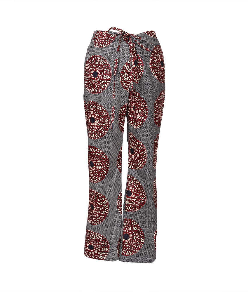 Cabana PJ Pants in Medallions Blue