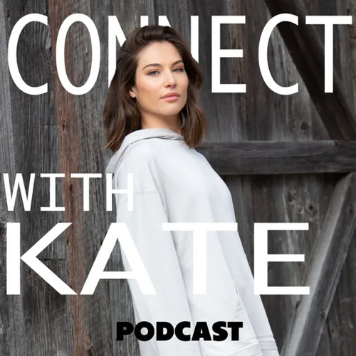 Connect with Kate Podcast Logo