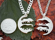 Best Friends Bull Necklaces