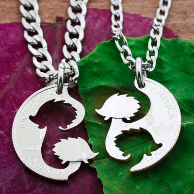 Best Friend Hedgehog Necklaces