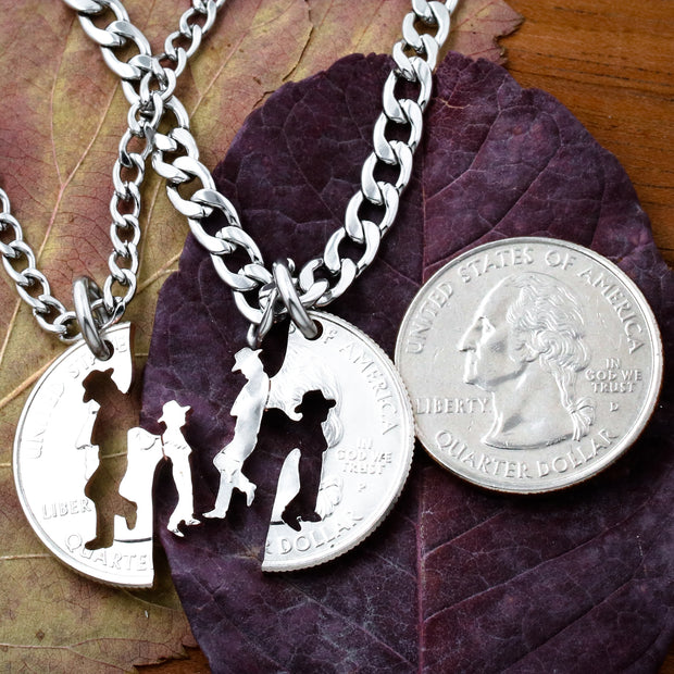 Cow Boy and Little Cowgirl Jewelry