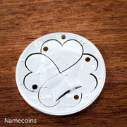 5 Best Friends Heart Necklaces, Family Jewelry by Namecoins
