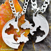 Four Wheeler Necklace, motocross extreme family jewelry by Namecoins