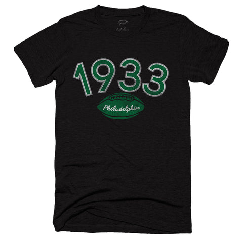 1933 Philadelphia Football Founding Year Tee