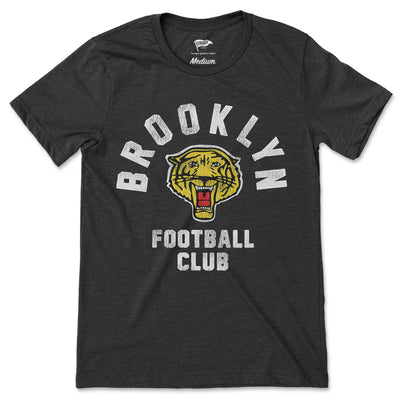 1936 Brooklyn Tigers Football Tee - Streaker Sports