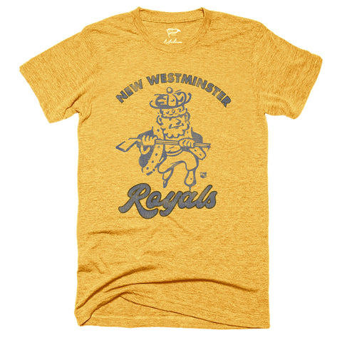 1952 New Westminster Royals Tee - Streaker Sports