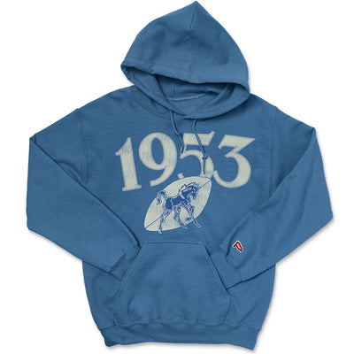 1953 Indianapolis Football Founding Year Hoodie - Streaker Sports