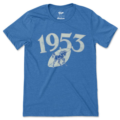 1953 Indianapolis Football Founding Year Tee - Streaker Sports