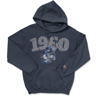 1960 Dallas Football Founding Year Hoodie - Streaker Sports