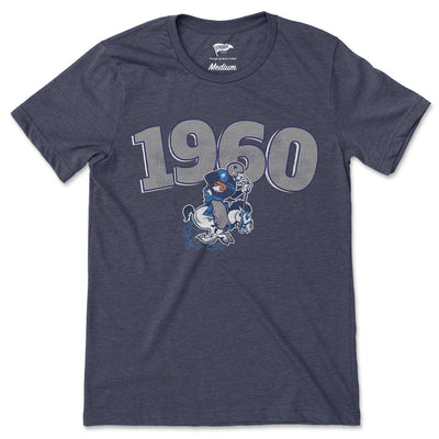 1960 Dallas Football Founding Year Tee - Streaker Sports