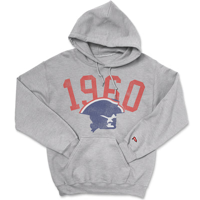 1960 New England Football Founding Year Hoodie - Streaker Sports