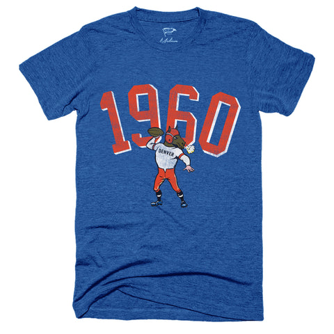 1960 Denver Football Founding Year Tee
