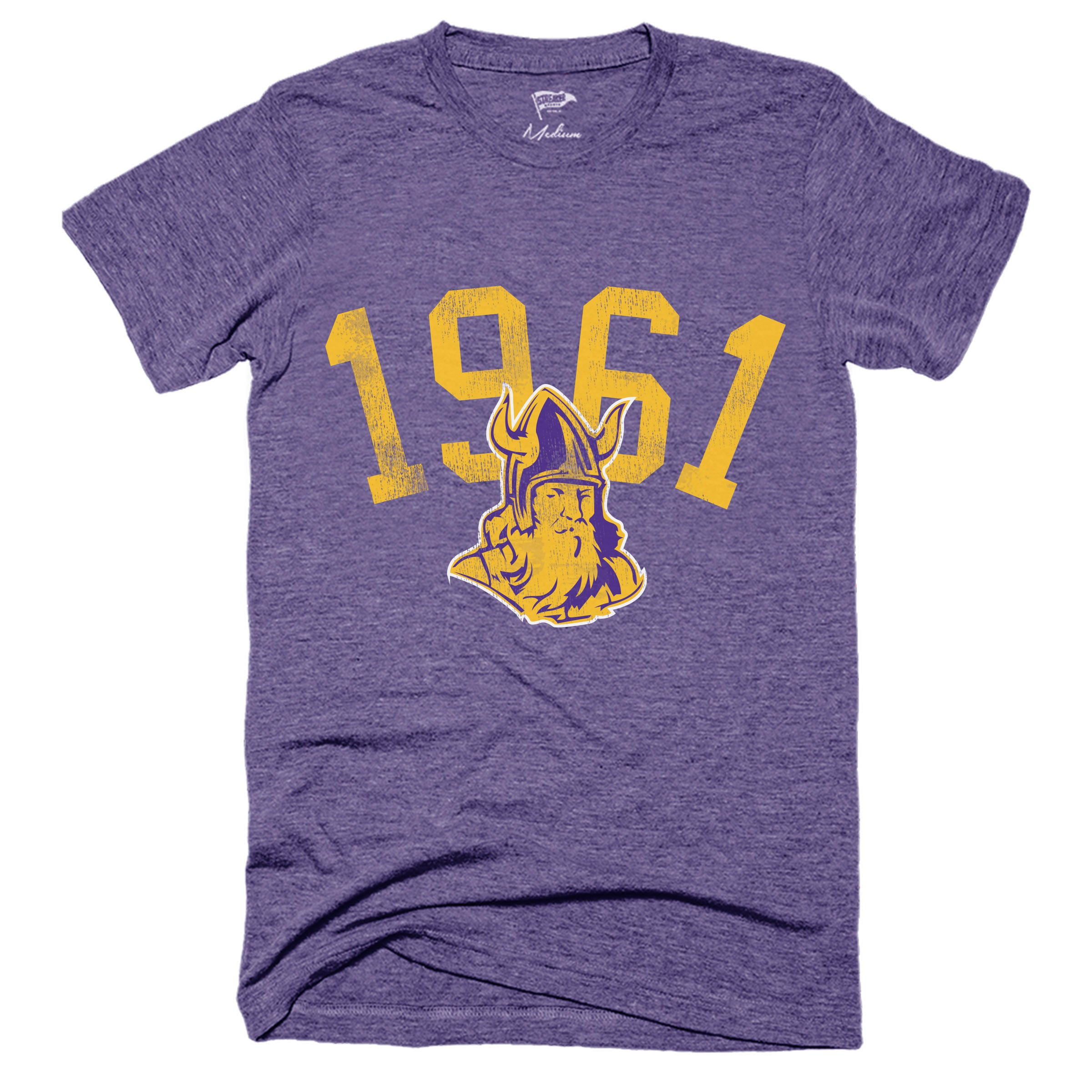1961 Minnesota Football Founding Year Tee - Streaker Sports