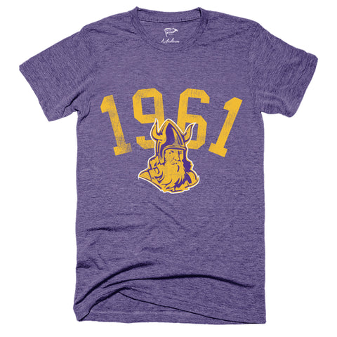 1961 Minnesota Football Founding Year Tee