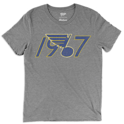 1967 St. Louis Founding Year Tee - Streaker Sports