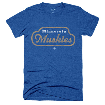 1967 Minnesota Muskies Wordmark Tee - Streaker Sports