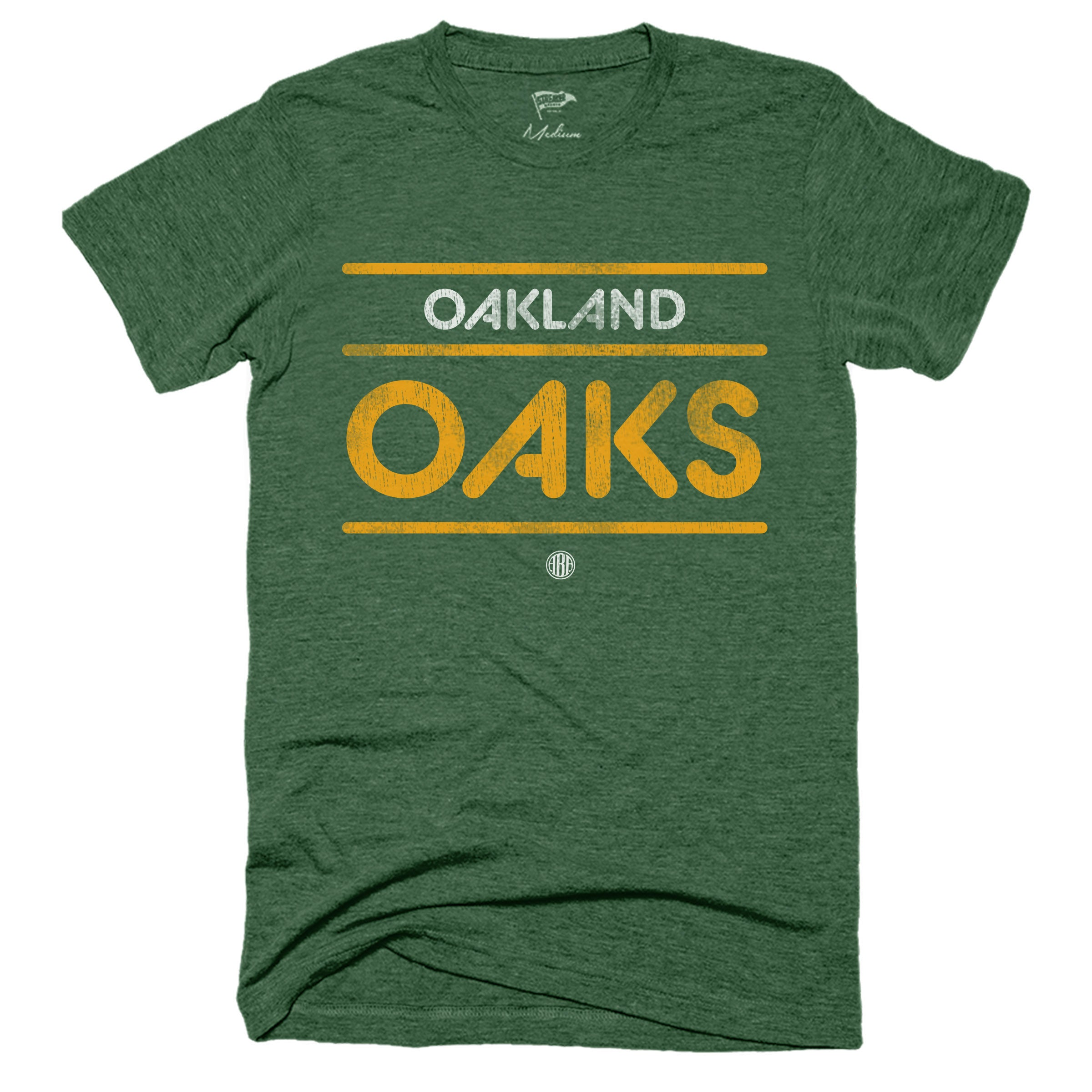 1967 Oakland Oaks Wordmark Tee - Streaker Sports