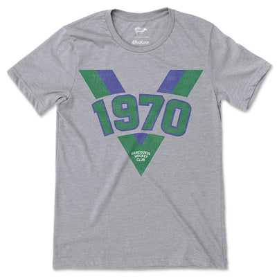 1970 Vancouver Founding Year Tee - Streaker Sports