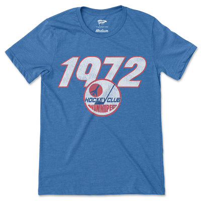 1972 Winnipeg Founding Year Tee - Streaker Sports