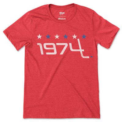 1974 Washington Founding Year Tee - Streaker Sports