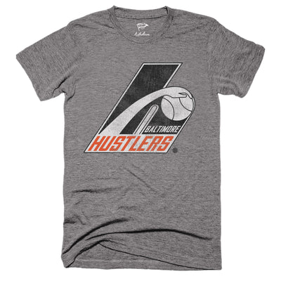 1975 Baltimore Hustlers Basketball Tee - Streaker Sports