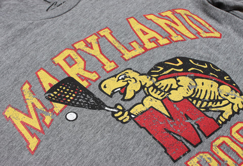 Throwback Terp Lacrosse Tee
