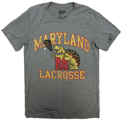 Throwback Terp Lacrosse Tee - Streaker Sports