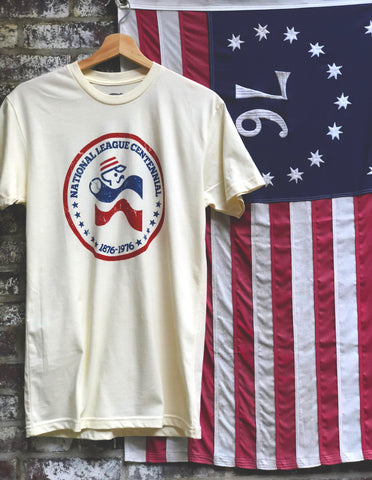 1976 National League Centennial Tee - Streaker Sports