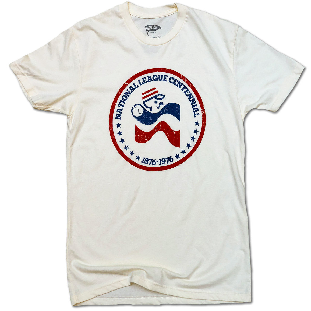 1976 National League Centennial Tee
