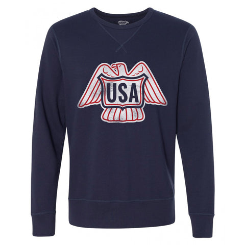 1976 USA Hockey Athletic Crewneck Sweatshirt - Streaker Sports