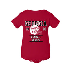 1980 Georgia National Champs Football Onesie - Streaker Sports