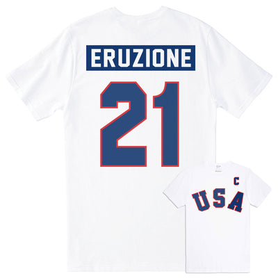 1980 Mike Eruzione Home Jersey Tee - Streaker Sports