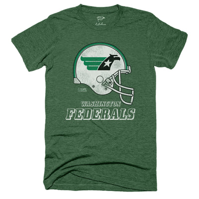 1983 Washington Federals Helmet Tee - Streaker Sports