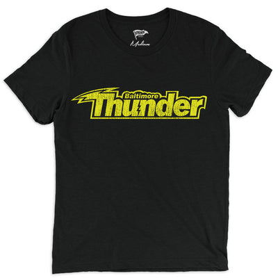 1987 Baltimore Thunder Lacrosse Tee - Streaker Sports