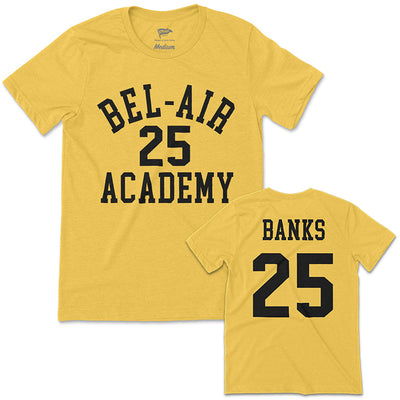 1990 Bel-Air Academy Carlton Banks Jersey Tee - Streaker Sports