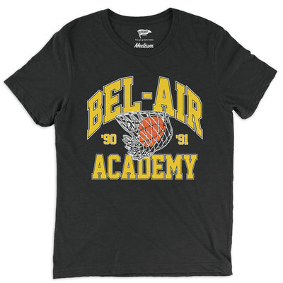 1990 Bel-Air Academy Hoops Tee - Streaker Sports