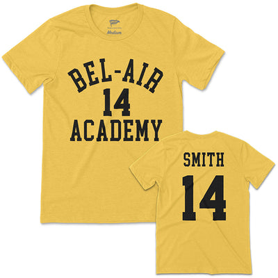 1990 Bel-Air Academy Will Smith Jersey Tee - Streaker Sports