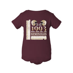 1993 Seminoles National Champs Football Onesie