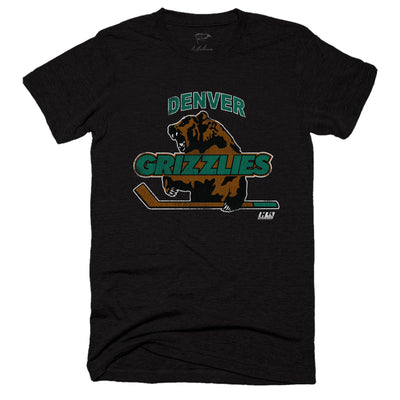 1994 Denver Grizzlies Tee - Streaker Sports