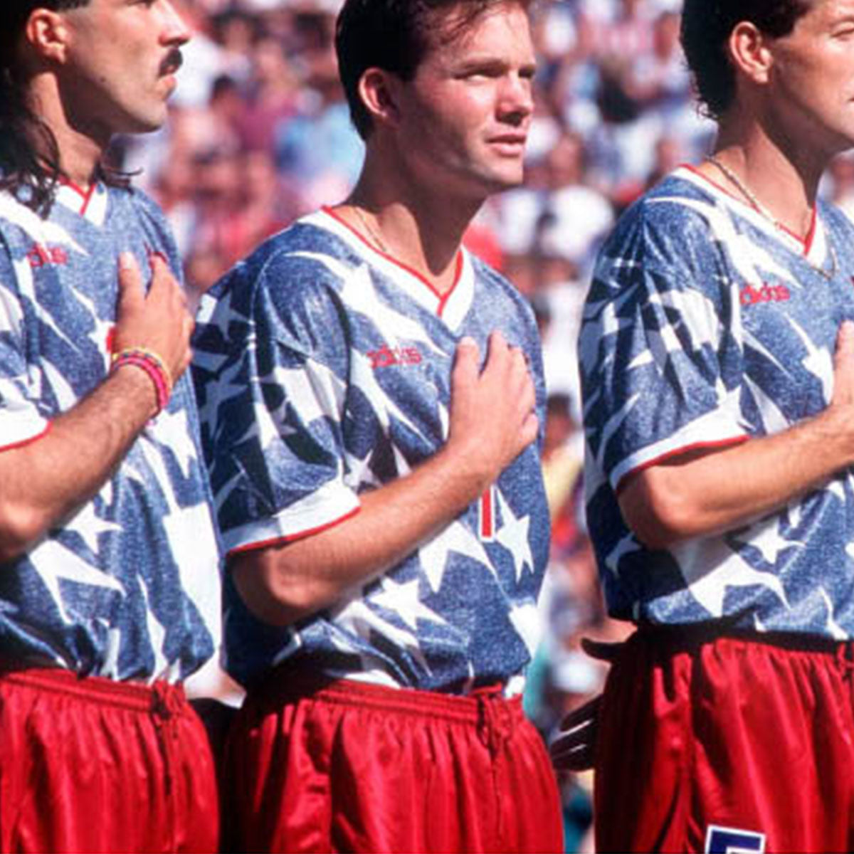 another chance 90859 a0d0c 1994 USA 'Denim' Soccer Jersey