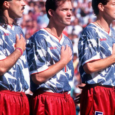 1994 USA 'Denim' Soccer Jersey
