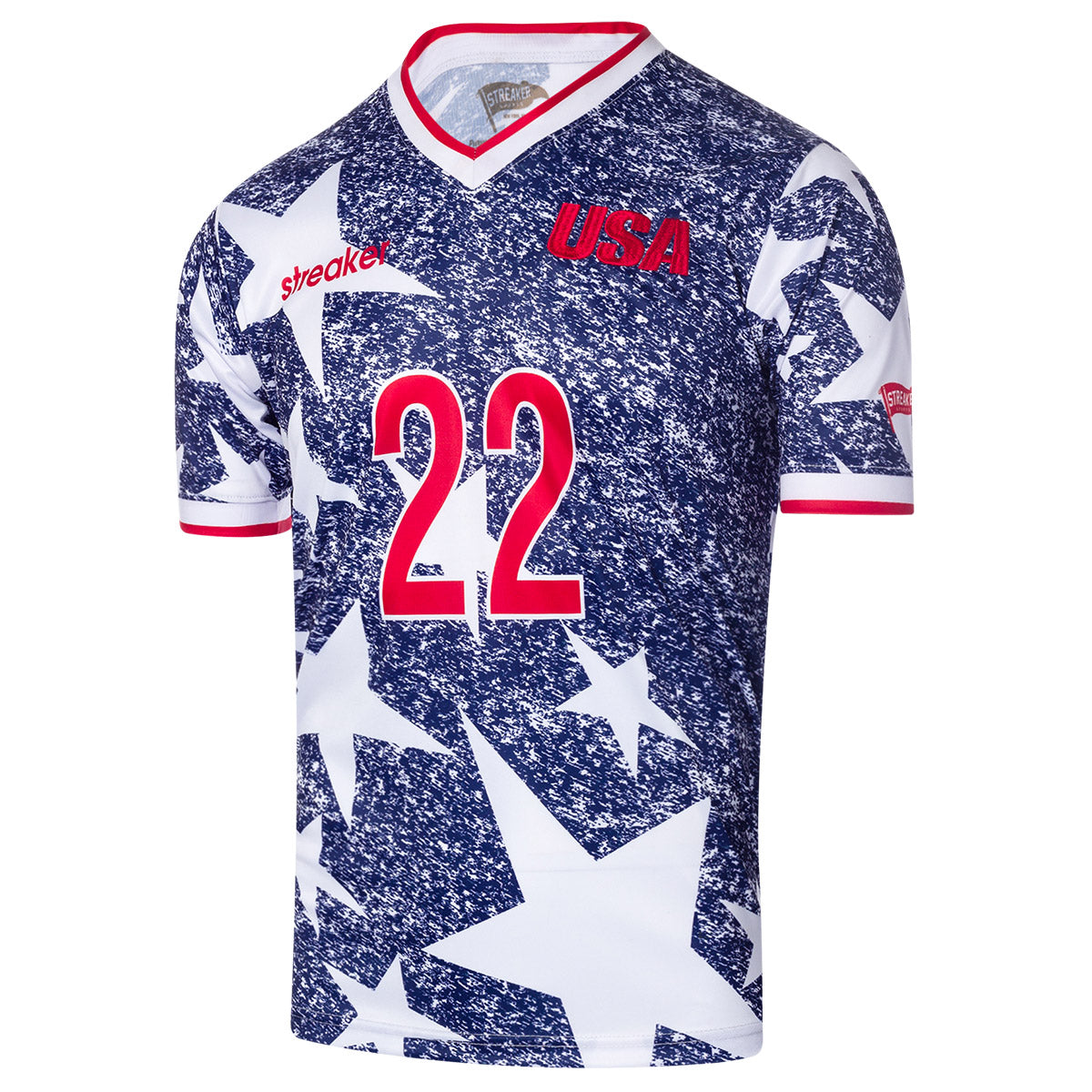 1994 USA 'Denim' Soccer Jersey - Streaker Sports