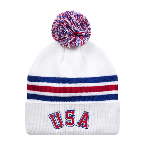 1980 Miracle Knit Pom Hat