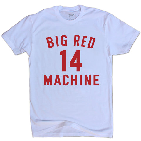 Pete Rose Big Red Machine Tee - Streaker Sports