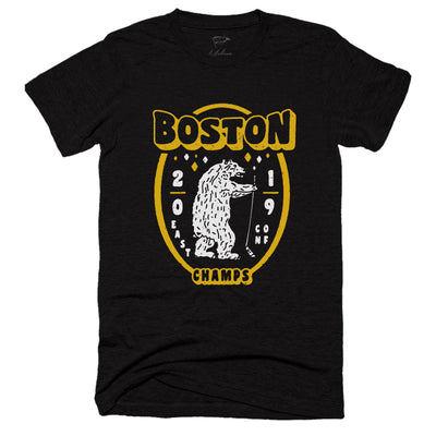 2019 Boston Eastern Conference Champs Tee - Streaker Sports