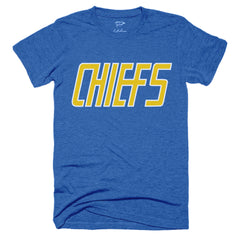 Charlestown Chiefs Logo Tee (Blue)