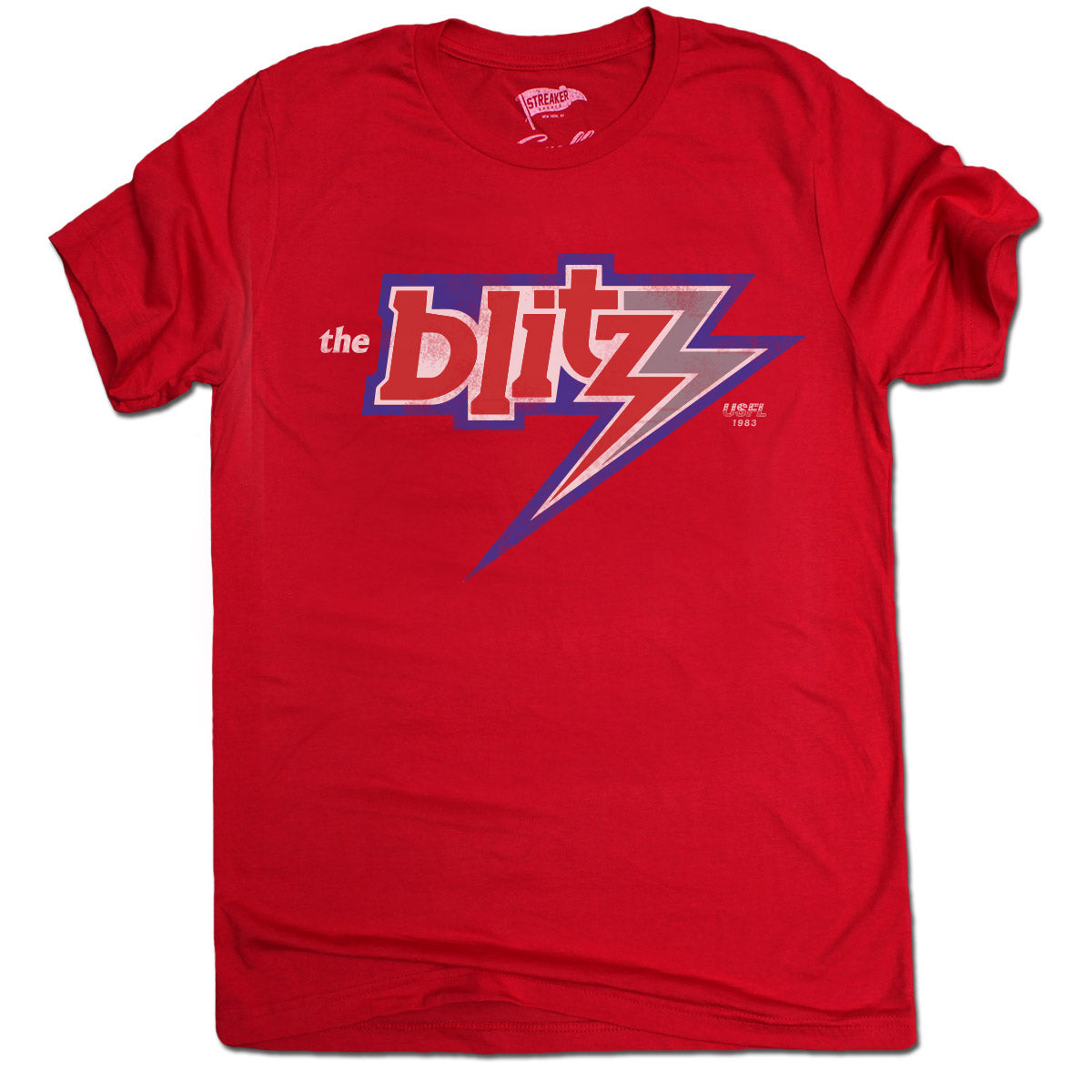 1983 Chicago Blitz Tee - Streaker Sports