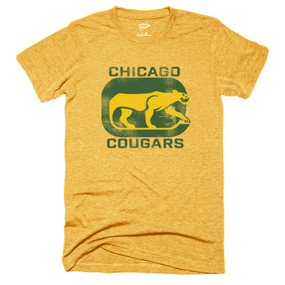 1972 Chicago Cougars Tee - Streaker Sports