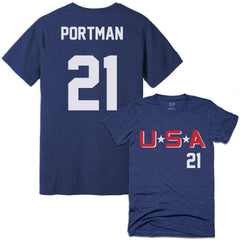 D2 Mighty Ducks Dean Portman Jersey Tee