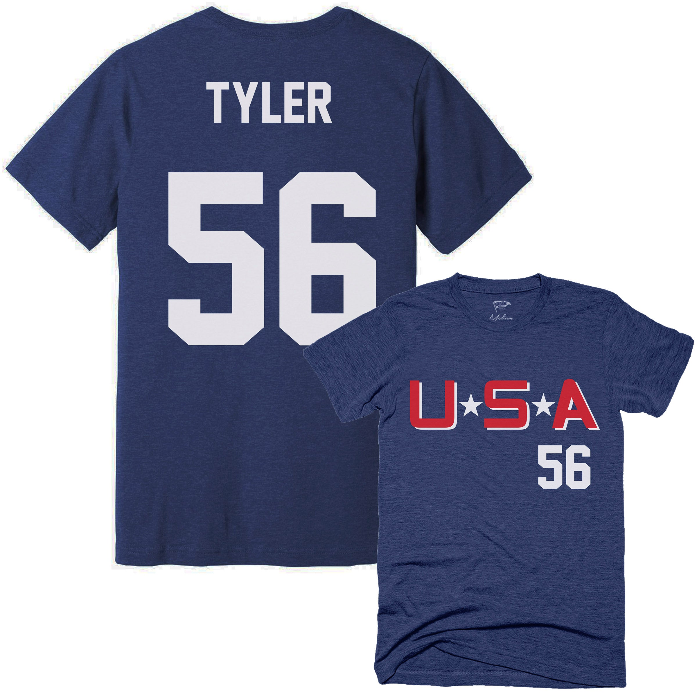 D2 Mighty Ducks Russ Tyler Jersey Tee - Streaker Sports